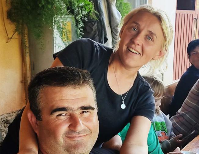 Ivana Slivar sa suprugom Draženom